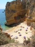 Praia de Lagos, o Algarve, Spain Fotos de Stock
