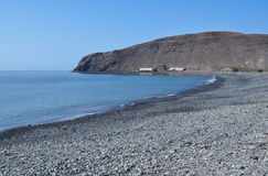 Praia 2 de Lajita do La de Fuerteventura Imagens de Stock Royalty Free