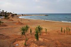 Praia de Lance Nuevo de Mojacar Almeria Andalusia Spain foto de stock
