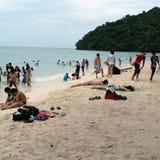 Praia de Langkawi Imagem de Stock Royalty Free