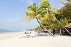 Praia de Langkawi, Malásia Imagem de Stock