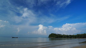 Praia de Lanta Imagem de Stock Royalty Free