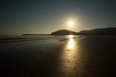 Praia de Laredo Imagens de Stock Royalty Free