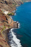 Praia de Las Gaviotas, Tenerife Imagens de Stock Royalty Free