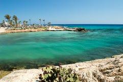 Praia de Latchi Adams Imagens de Stock Royalty Free