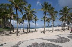 Praia de Leme fotos de stock royalty free