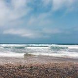 Praia de Lezgira, Marrocos Imagem de Stock Royalty Free