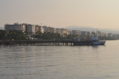 Praia de Limassol Imagem de Stock