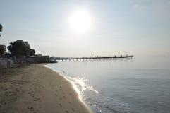 Praia de Limassol Fotografia de Stock Royalty Free