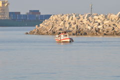 Praia de Limassol Imagens de Stock