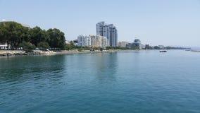 Praia de Limassol Fotografia de Stock