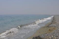 Praia de Limassol Foto de Stock Royalty Free
