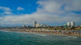 Praia de Los Angeles imagens de stock