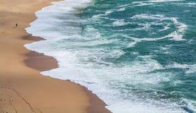 Praia de Lourenco do Sao em Ericeira Portugal Fotos de Stock