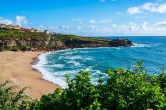 Praia de Lourenco do Sao em Ericeira Portugal Imagens de Stock