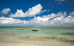 Praia de Luquillo Imagens de Stock Royalty Free