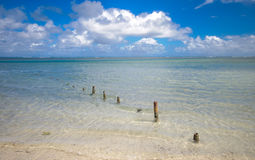 Praia 2 de Luquillo Imagens de Stock