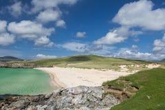 Praia de Luskentyre em Harris fotos de stock royalty free