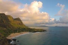 Praia de Makapu'u Imagem de Stock