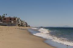 Praia de Malibu Imagem de Stock