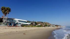 Praia de Malibu, Califórnia, Estados Unidos imagem de stock