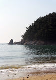 Praia de Mallipo, Coreia do Sul fotos de stock