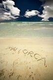 Praia de Mallorca Imagem de Stock