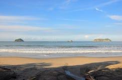 Praia de Manuel Antonio, Costa-Rica Foto de Stock Royalty Free