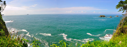 Praia de Manuel Antonio, Costa-Rica Fotos de Stock