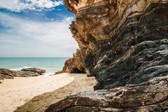 Praia de Marang Fotos de Stock Royalty Free