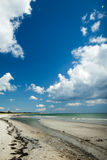 Praia de Marielyst em Dinamarca fotos de stock royalty free