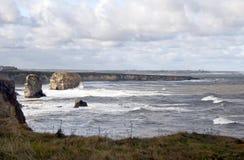 Praia de Marsden Fotos de Stock