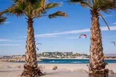 Praia de Marselha Fotos de Stock