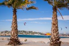 Praia de Marselha Foto de Stock Royalty Free