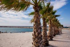 Praia de Marselha Foto de Stock