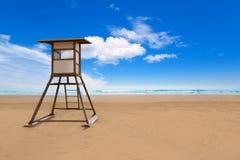 Praia de Maspalomas Playa del Ingles em Gran Canaria Imagem de Stock
