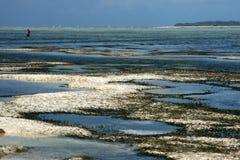 Praia de Matemwe, Zanzibar fotos de stock royalty free