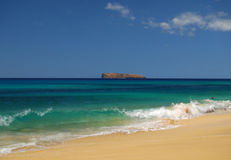 Praia de Maui Fotografia de Stock Royalty Free