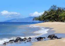 Praia de Maui, Havaí Fotos de Stock