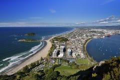 Praia de Maunganui da montagem, Nova Zelândia foto de stock royalty free