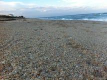 Praia de Melbourne, Florida fotografia de stock