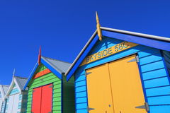 Praia de Melbourne que banha a caixa Austrália Fotos de Stock