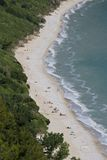 Praia de Mezzavalle Imagem de Stock