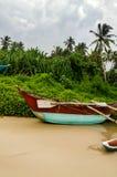 Praia de Mirissa, Sri Lanka Imagens de Stock Royalty Free