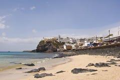Praia de Morro Jable Fotografia de Stock Royalty Free
