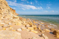 Praia De Mos beach , Lagos, Algarve, Portugal. Royalty Free Stock Photos