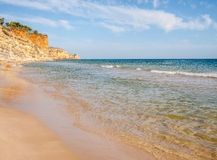 Praia De Mos beach , Lagos, Algarve, Portugal. Stock Photo