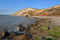Praia de Moshup imagem de stock royalty free
