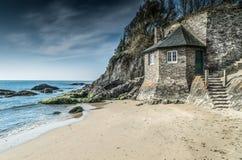 Praia de Mothcombe, Devon fotos de stock royalty free
