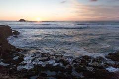 Praia de Muriwai Imagem de Stock Royalty Free